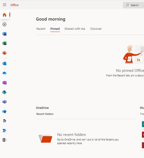 Microsoft 365 Dashboard